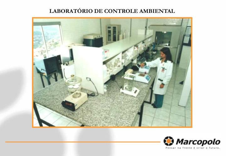 LABORATÓRIO DE CONTROLE AMBIENTAL