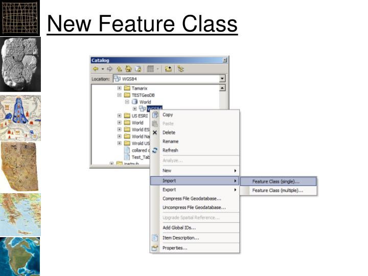 New Feature Class
