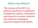 what is our mission