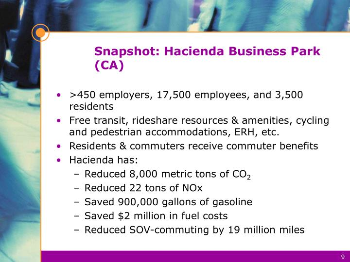 Snapshot: Hacienda Business Park (CA)
