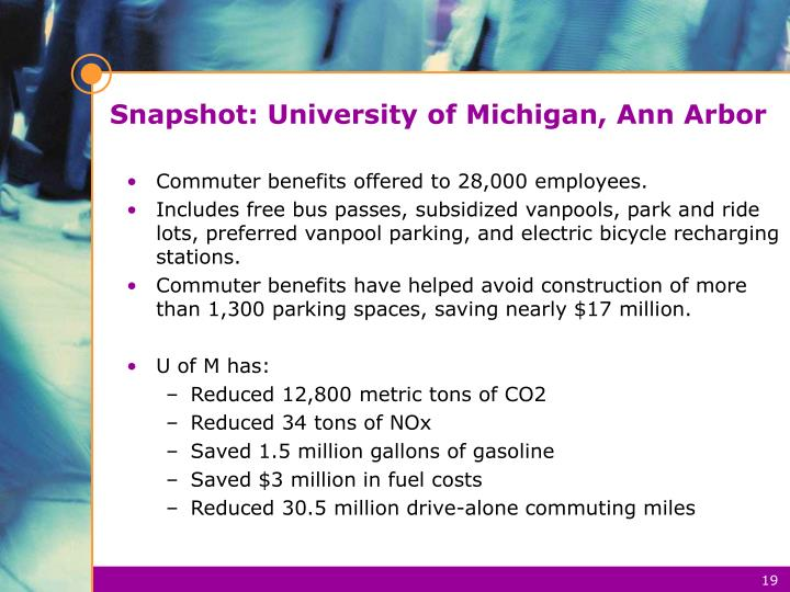 Snapshot: University of Michigan, Ann Arbor
