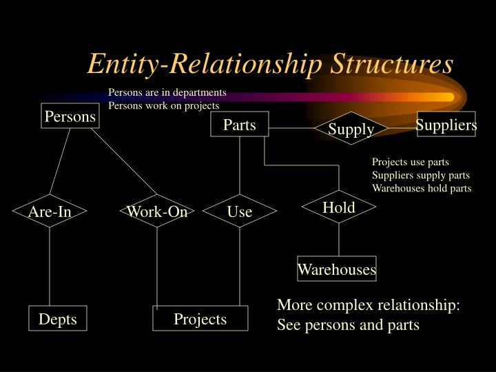 Entity-Relationship Structures