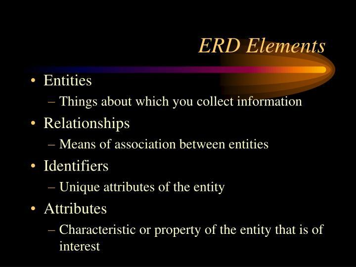 ERD Elements