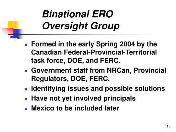 Binational ERO