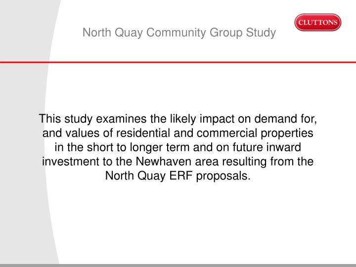 North Quay Community Group Study