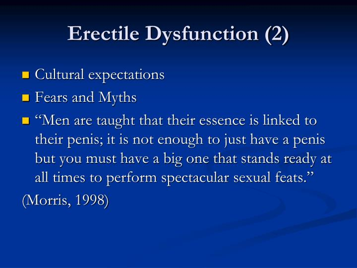 Erectile Dysfunction (2)
