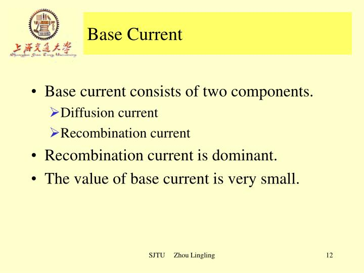 Base Current