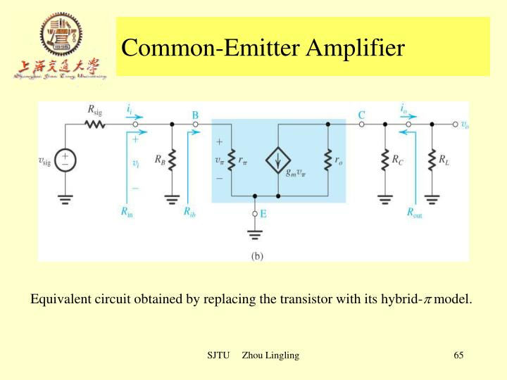 Common-Emitter Amplifier
