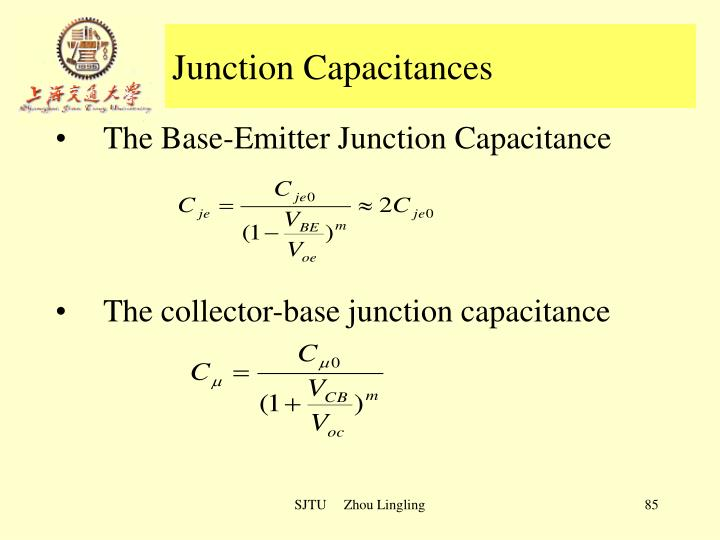 Junction Capacitances