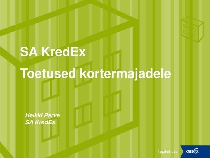 SA KredEx