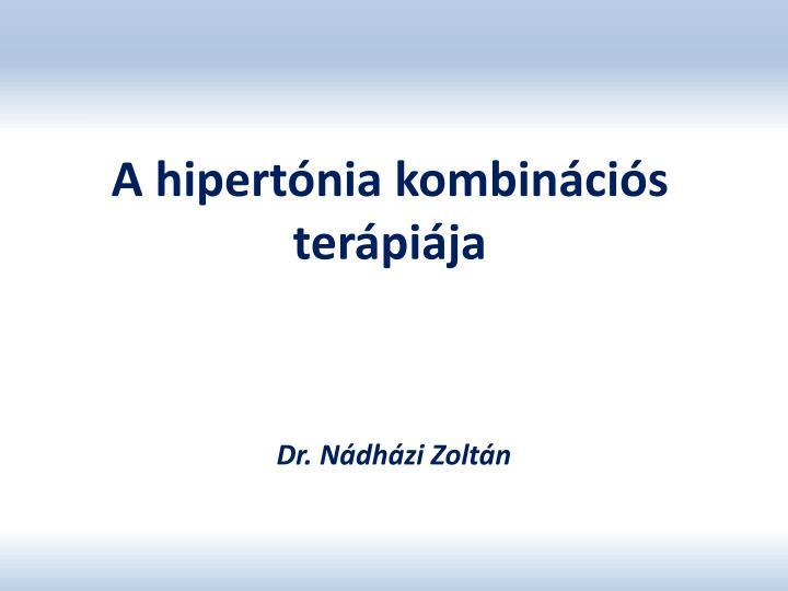 A hipertónia kombinációs terápiája