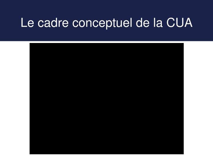 Le cadre conceptuel de la CUA