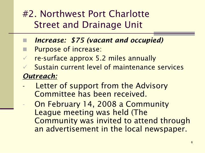 #2. Northwest Port Charlotte
