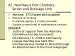 2 northwest port charlotte street and drainage unit