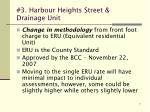 3 harbour heights street drainage unit