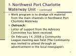 5 northwest port charlotte waterway unit continued