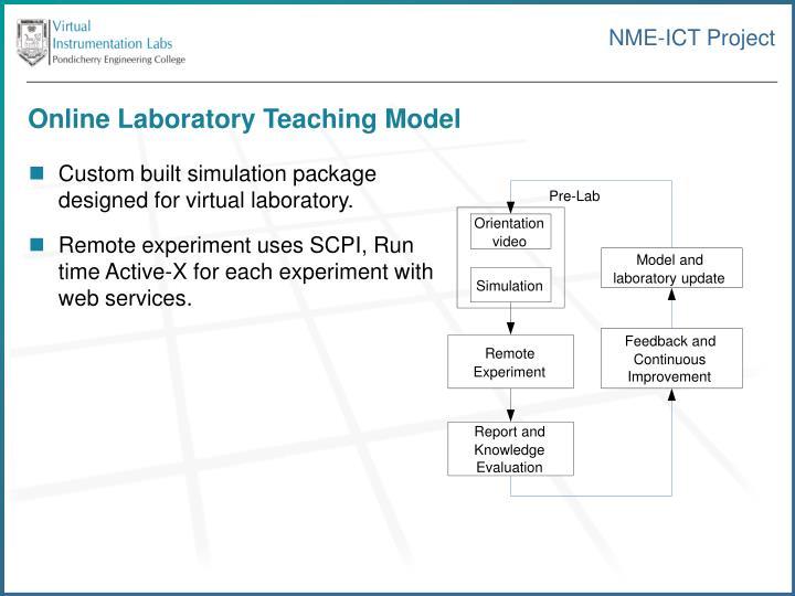 Online Laboratory Teaching Model