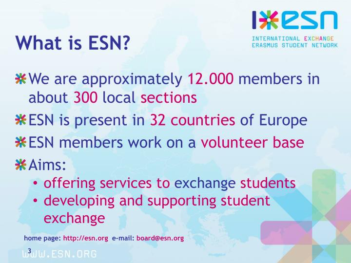 What is ESN?