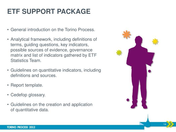 ETF SUPPORT PACKAGE