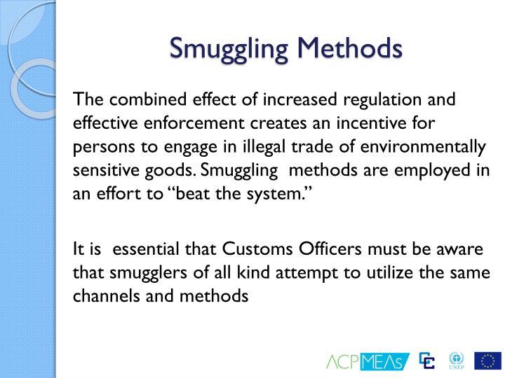 Smuggling Methods