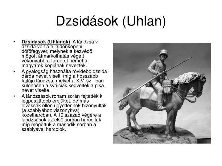 Dzsidások (Uhlan)