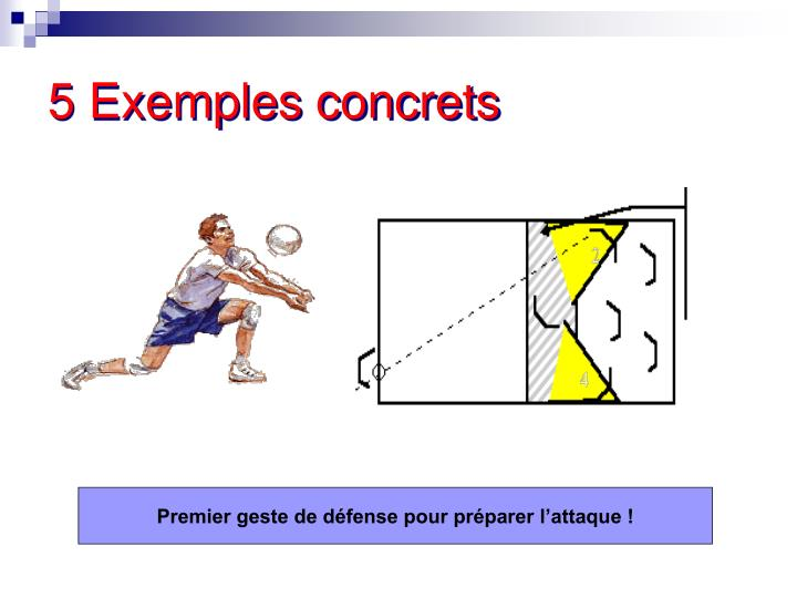 5 Exemples concrets