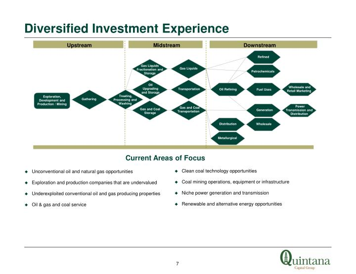Diversified Investment Experience