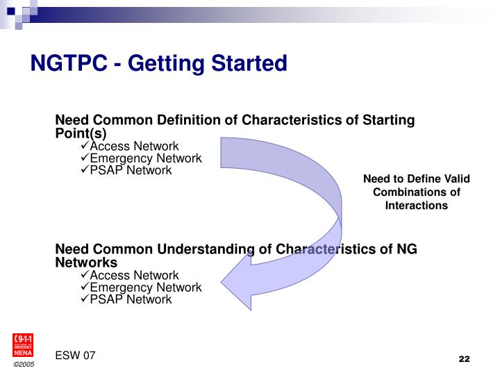 NGTPC - Getting Started
