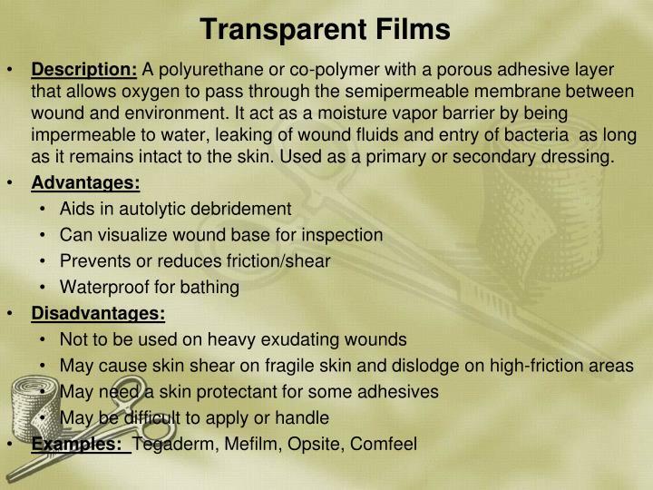 Transparent Films