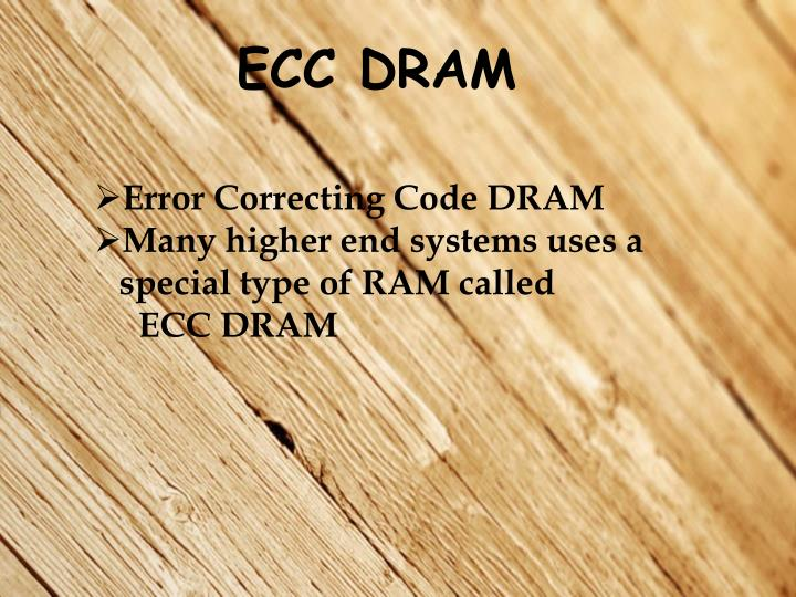 ECC DRAM