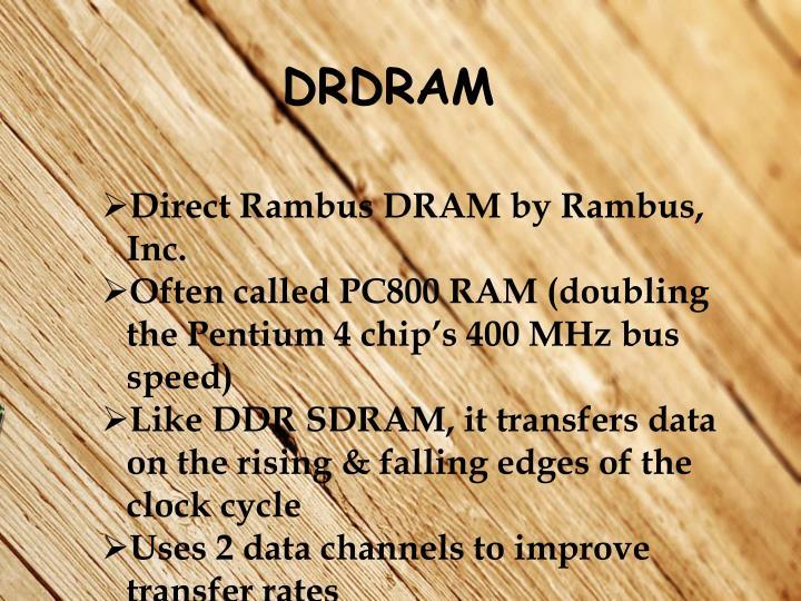 DRDRAM