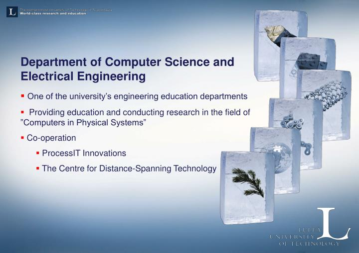 Department of Computer Science and Electrical Engineering
