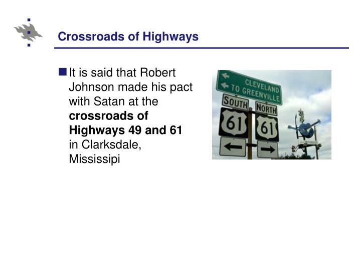 Crossroads of Highways