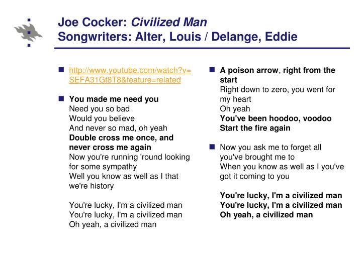 Joe Cocker: