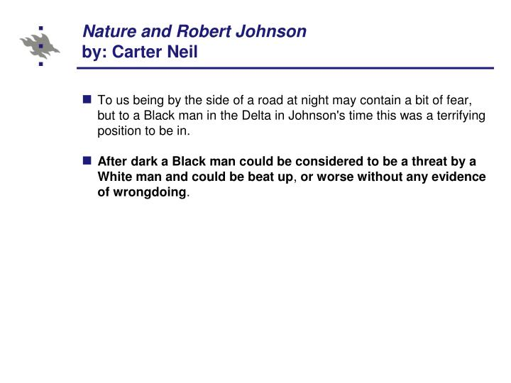 Nature and Robert Johnson