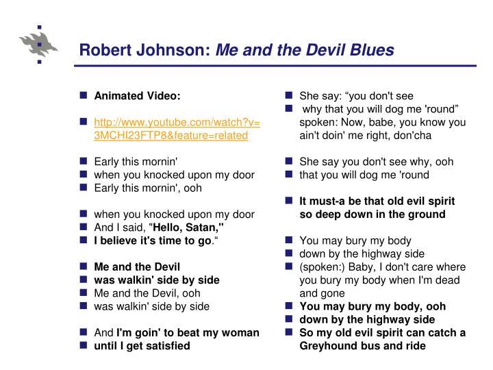 Robert Johnson: