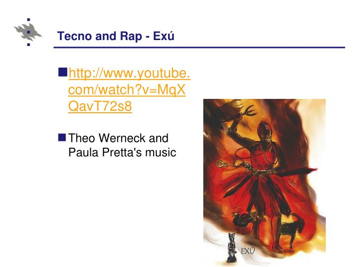 Tecno and Rap - Exú
