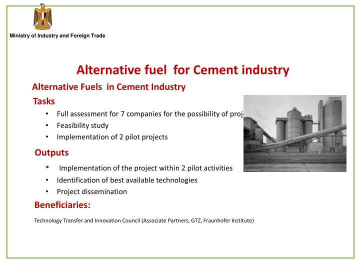 Alternative fuel  for Cement industry