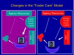 changes in the foster care model