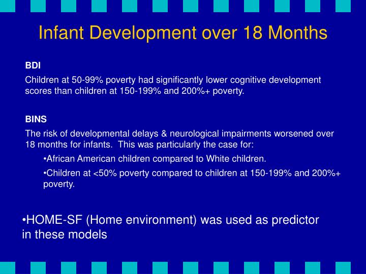 Infant Development over 18 Months