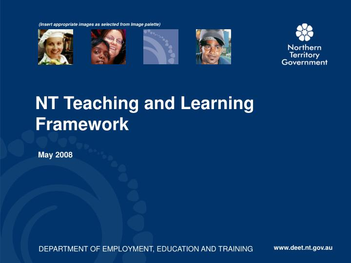 Nt teaching and learning framework
