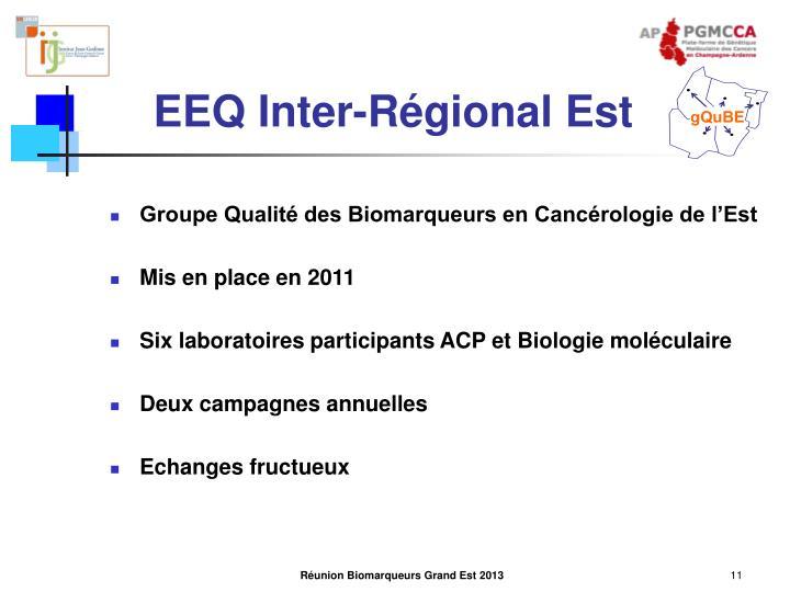 EEQ Inter-Régional Est