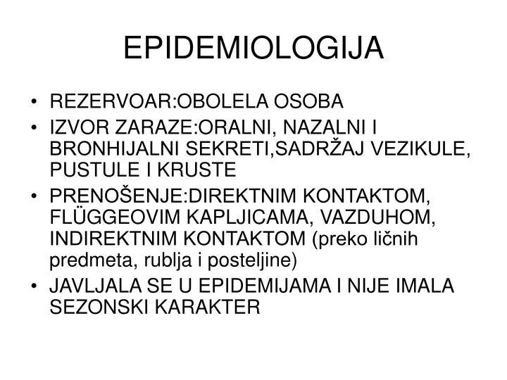 EPIDEMIOLOGIJA