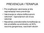 prevencija i terapija