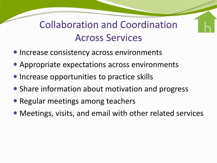 Collaboration and Coordination