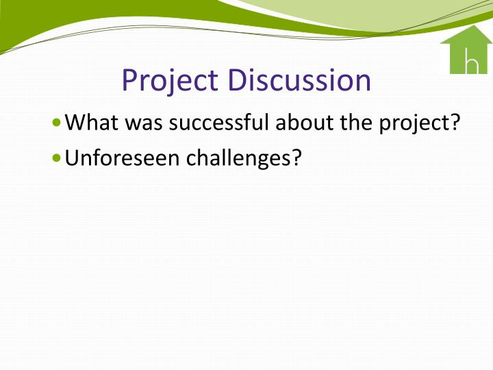 Project Discussion