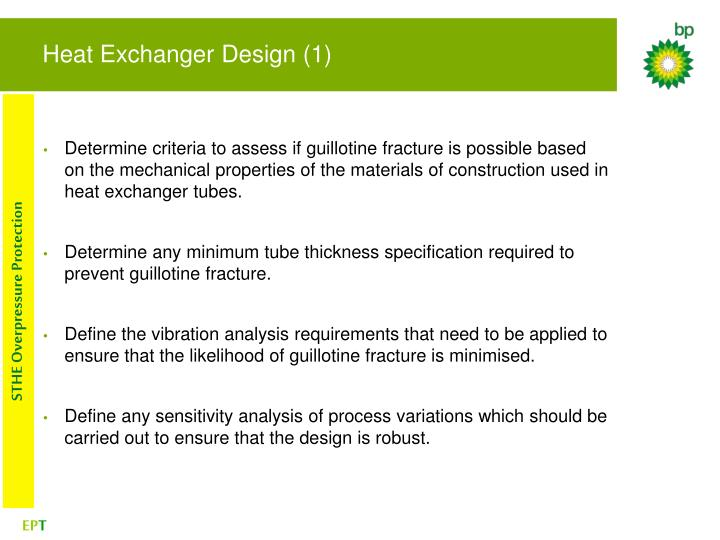 Heat Exchanger Design (1)