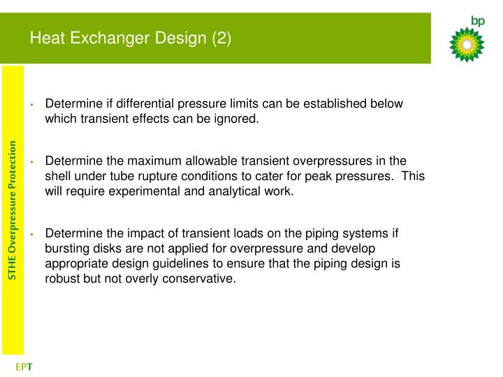 Heat Exchanger Design (2)