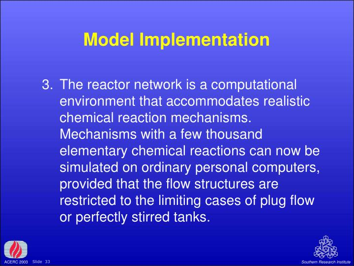 Model Implementation