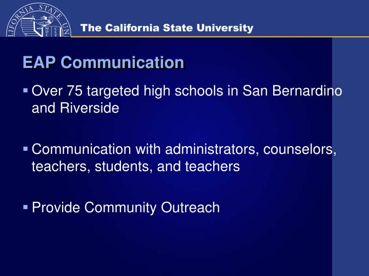 EAP Communication